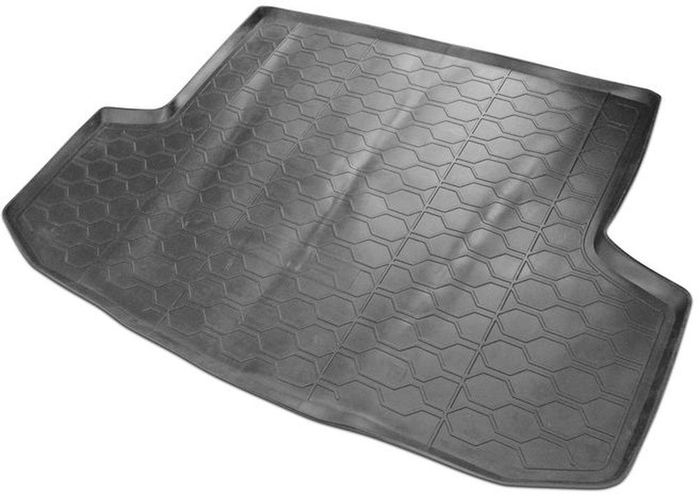 Коврик багажника Rival, для Chevrolet Aveo 2004-2011/Ravon Nexia R3 2015->, полиуретан98298130Автомобильный коврик багажника RivalПоддон багажника позволяет надежно защитить и сохранить от грязи багажный отсек вашего автомобиля на протяжении всего срока эксплуатации, полностью повторяют геометрию багажника.- Высокий борт специальной конструкции препятствует попаданию разлившейся жидкости и грязи на внутреннюю отделку.- Произведены из первичных материалов, в результате чего отсутствует неприятный запах в салоне автомобиля.- Рисунок обеспечивает противоскользящую поверхность, благодаря которой перевозимые предметы не перекатываются в багажном отделении, а остаются на своих местах.- Высокая эластичность, можно беспрепятственно эксплуатировать при температуре от -45 ?C до +45 ?C.- Изготовлены из высококачественного и экологичного материала, не подверженного воздействию кислот, щелочей и нефтепродуктов. Уважаемые клиенты!Обращаем ваше внимание, что коврик имеет форму соответствующую модели данного автомобиля. Фото служит для визуального восприятия товара.