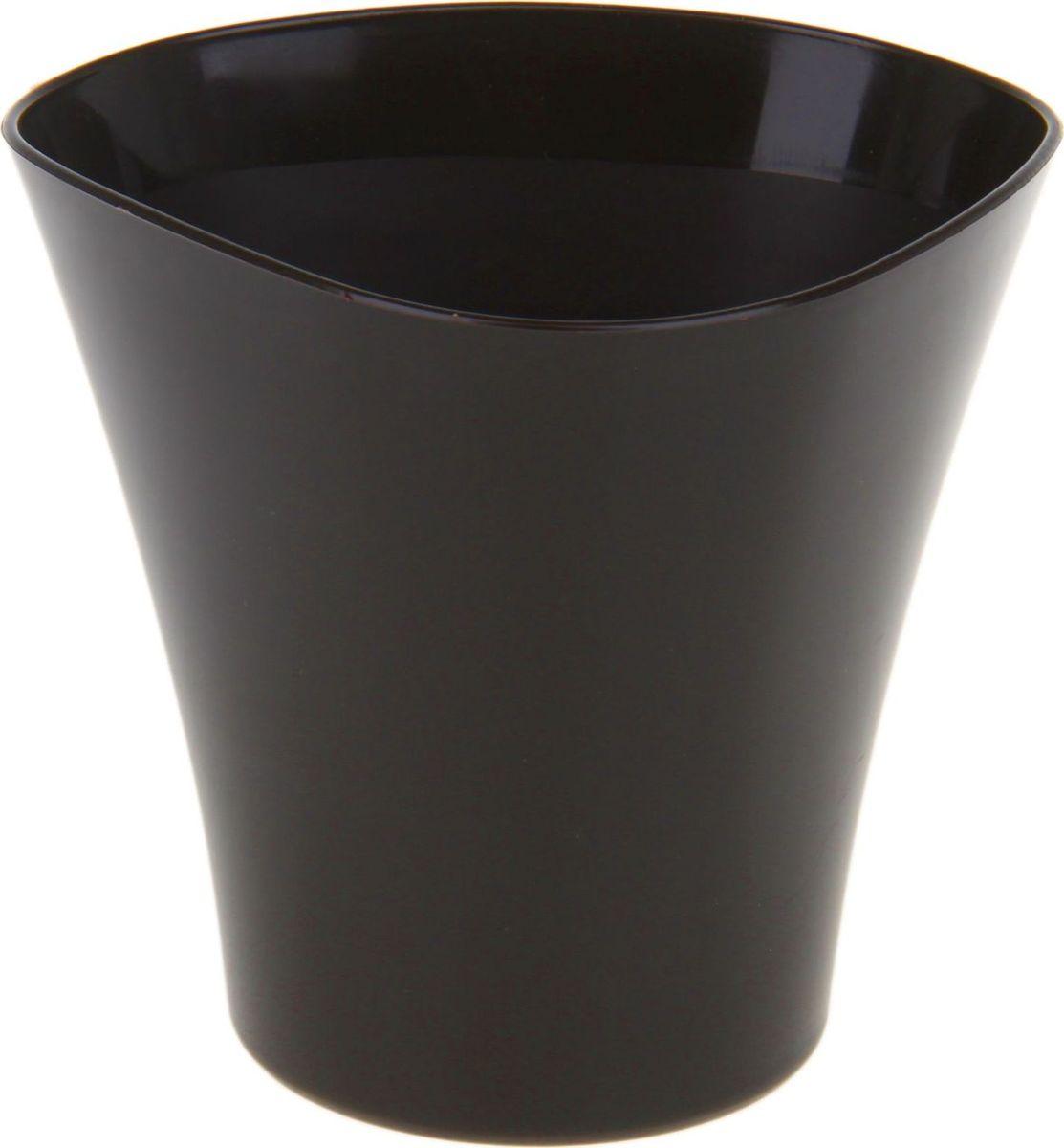 Кашпо JetPlast Волна, цвет: темный шоколад, 1,5 лING46016БЛ-16РSЛюбой, даже самый современный и продуманный интерьер будет не завершённым без растений. Они не только очищают воздух и насыщают его кислородом, но и заметно украшают окружающее пространство. Такому полезному &laquo члену семьи&raquoпросто необходимо красивое и функциональное кашпо, оригинальный горшок или необычная ваза! Мы предлагаем - Кашпо 1,5 л Волна, цвет темный шоколад!Оптимальный выбор материала &mdash &nbsp пластмасса! Почему мы так считаем? Малый вес. С лёгкостью переносите горшки и кашпо с места на место, ставьте их на столики или полки, подвешивайте под потолок, не беспокоясь о нагрузке. Простота ухода. Пластиковые изделия не нуждаются в специальных условиях хранения. Их&nbsp легко чистить &mdashдостаточно просто сполоснуть тёплой водой. Никаких царапин. Пластиковые кашпо не царапают и не загрязняют поверхности, на которых стоят. Пластик дольше хранит влагу, а значит &mdashрастение реже нуждается в поливе. Пластмасса не пропускает воздух &mdashкорневой системе растения не грозят резкие перепады температур. Огромный выбор форм, декора и расцветок &mdashвы без труда подберёте что-то, что идеально впишется в уже существующий интерьер.Соблюдая нехитрые правила ухода, вы можете заметно продлить срок службы горшков, вазонов и кашпо из пластика: всегда учитывайте размер кроны и корневой системы растения (при разрастании большое растение способно повредить маленький горшок)берегите изделие от воздействия прямых солнечных лучей, чтобы кашпо и горшки не выцветалидержите кашпо и горшки из пластика подальше от нагревающихся поверхностей.Создавайте прекрасные цветочные композиции, выращивайте рассаду или необычные растения, а низкие цены позволят вам не ограничивать себя в выборе.