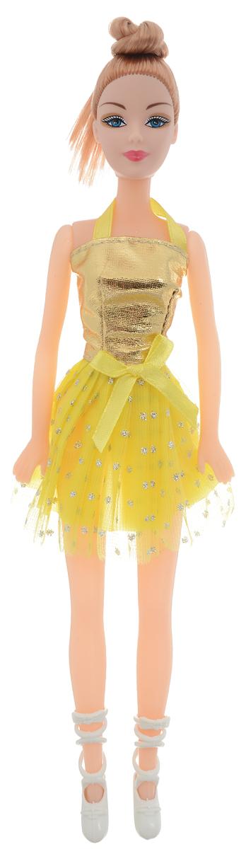 Город игр Кукла Abbie Балерина цвет платья желтый