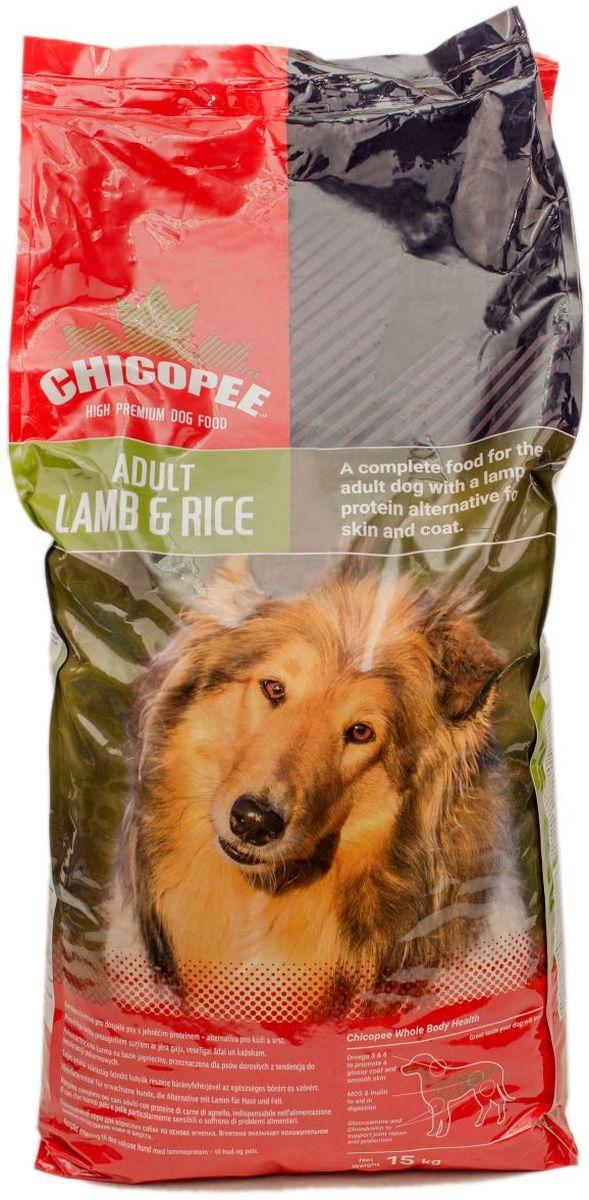 Корм сухой Chicopee для взрослых собак, гипоаллергенный, с ягненком и рисом, 15 кг590715Животные, страдающие пищевой непереносимостью или аллергией, нуждаются в особом, сбалансированном рационе, который удовлетворял бы всем потребностям питомца, не провоцируя обострения его болезни. Корм Chicopee с ягненком и рисом создан именно для собак, имеющих такие проблемы. Главной особенностью продукта является отсутствие аллергенов в его составе.Ягненок - основной компонент данного корма Chicopee имеет богатейший состав минералов: железа, калия, цинка, селена и других. Кроме того, мясо содержит значительное количество полиненасыщенных жирных кислот Омега-3 и 6. Такой состав способствует хорошему состоянию сердца и кровеносной системы питомца, крепости его костей, а самое главное нормальной работе желудочно-кишечного тракта, формированию благоприятной микрофлоры кишечника и устранению любых симптомов расстройств.Рис - основа, которая не делает корм высококалорийным, но дает питомцу необходимое количество углеводов для усваивания белка и запаса энергии на каждый день. При этом рис не имеет в своем составе глютена - вещества, которое чаще всего содержится в злаках и становится причиной аллергических реакций у животных. Важно отметить, что рис содержит аминокислоты и растительные белки, которые необходимы для работы мышц животного, обновления его клеток и крови.Сочетание риса и мяса ягненка в данном корм Chicopee делает его оптимальным диетическим продуктом для собак, страдающих аллергией и пищевой непереносимостью. Используя его, хозяин может не волноваться, что у собаки могут быть рецидивы, ведь в составе корма просто нет аллергенов, способных их спровоцировать.Ингредиенты: мука из ягненка (минимум 13,8%), pис (минимум 13,8%), пшеничная мука, кукуруза, мясо домашней птицы, жир домашней птицы, пшеница, дробленая пшеница, свекловичный жом, гидролизат белка, сухие дрожжи, целлюлоза, поваренная соль, xлористый калий, корень цикория (инулин 0,10%), дрожжевой экстракт (МОS 0,10%), г