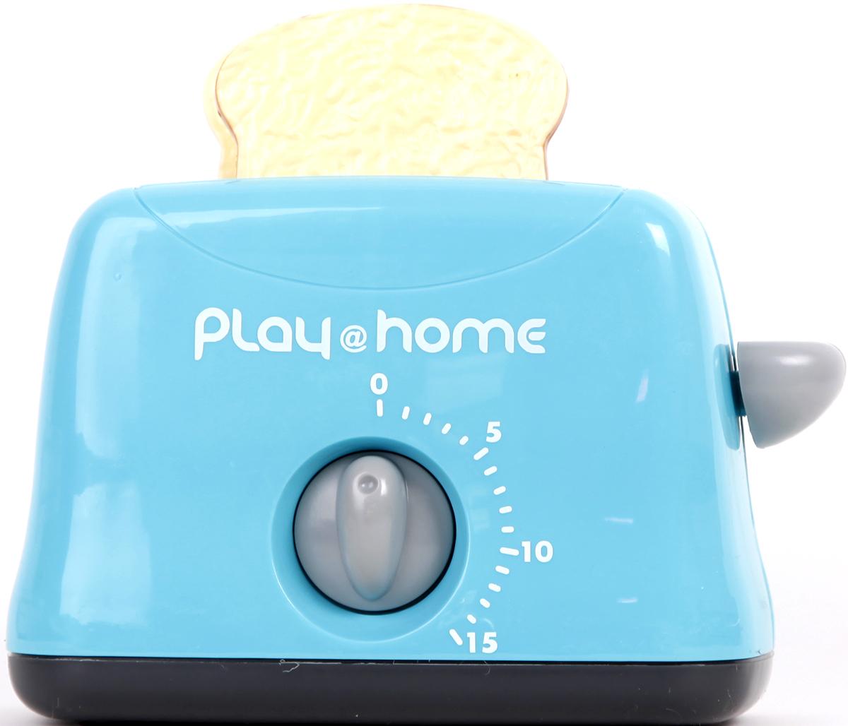 Keenway Игровой набор Тостер Try Me цвет голубой  keenway игровой набор кофеварка и тостер keenway
