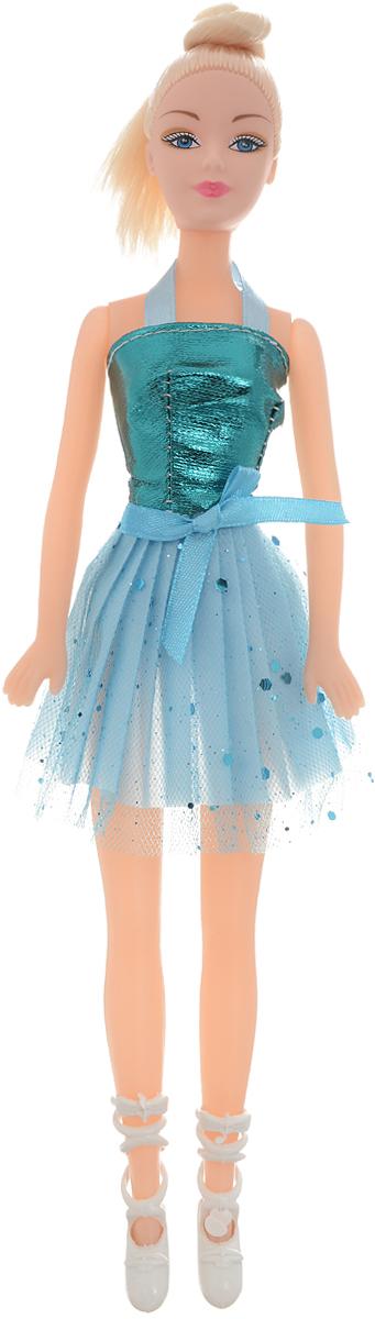 Город игр Кукла Abbie Балерина цвет платья бирюзовый