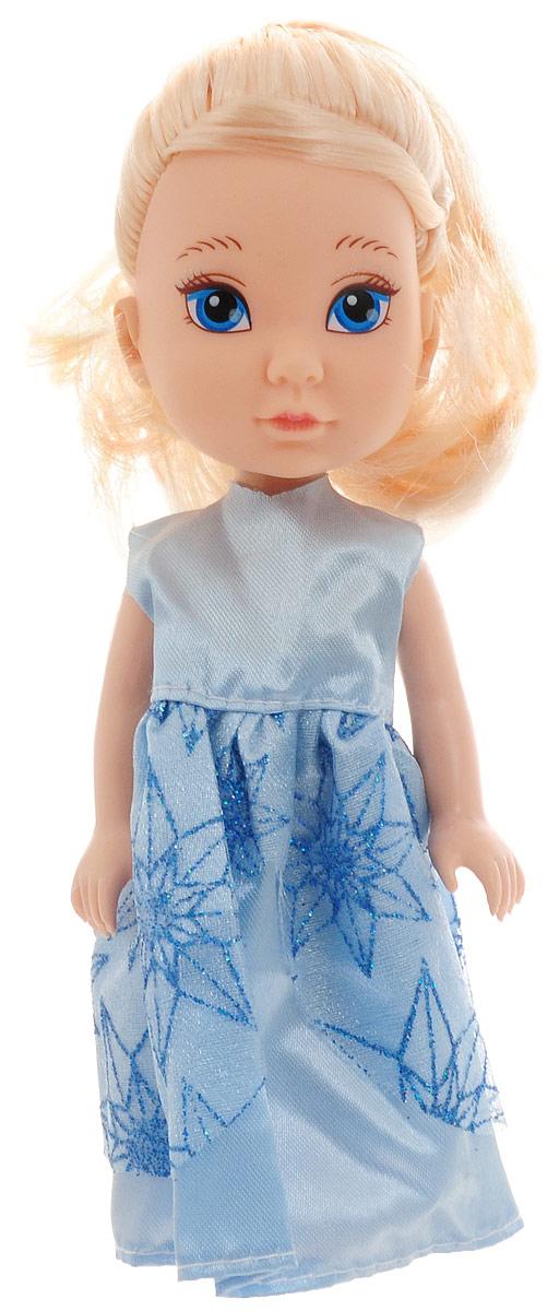 Junfa Toys Мини-кукла Isabella цвет платья голубой