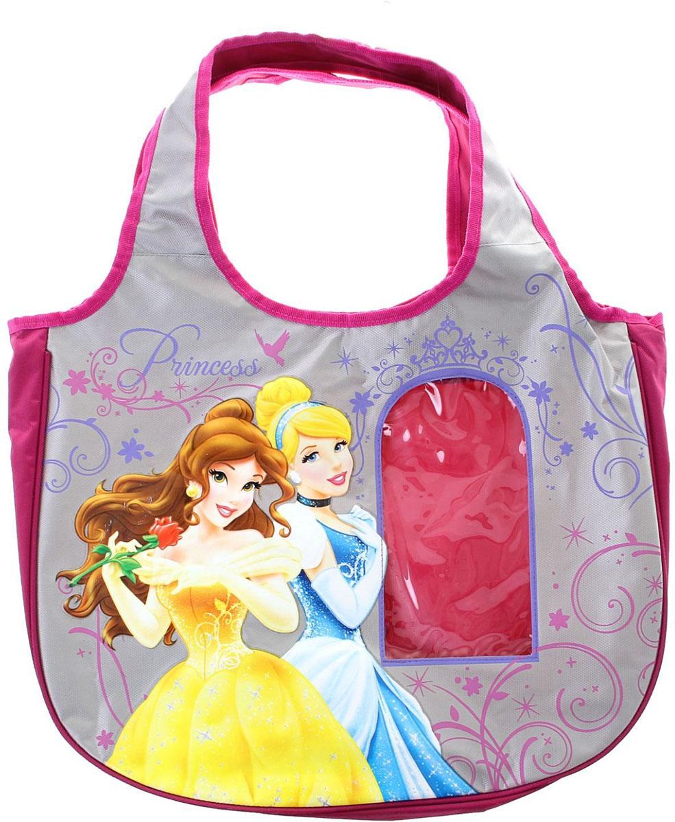 Disney Сумка детская Принцесса1060983Маленькие, казалось бы, незначительные элементы зачастую завершают, дополняют образ, подчёркивают статус, стиль и вкус своего обладателя. Сумочка детская - это вещь достойного качества, которая может стать прекрасным подарком по любому поводу.