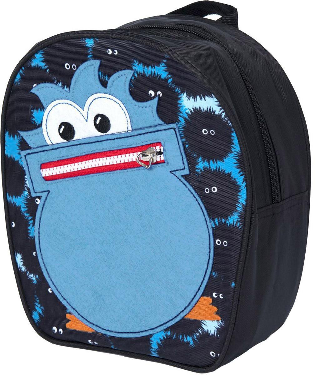 Росмэн Рюкзак дошкольный Монстрик32010Дошкольный рюкзак Росмэн Монстрик - это удобный, легкий и компактный аксессуар для вашего малыша, который обязательно пригодится для прогулок и детского сада.В его внутреннее отделение на застежке-молнии можно положить игрушки, предметы для творчества или книжку формата А5, а кармашек на лицевой стороне подойдет для мелких предметов.Благодаря регулируемым лямкам, рюкзачок подходит детям любого роста. Удобная ручка помогает носить аксессуар в руке или размещать на вешалке.Износостойкий материал с водонепроницаемой основой и подкладка обеспечивают изделию длительный срок службы и помогают содержать вещи сухими в сырую погоду.Аксессуар декорирован ярким принтом (сублимированной печатью), устойчивым к истиранию и выгоранию на солнце, аппликацией из фетра, вышивкой в виде рта монстрика.