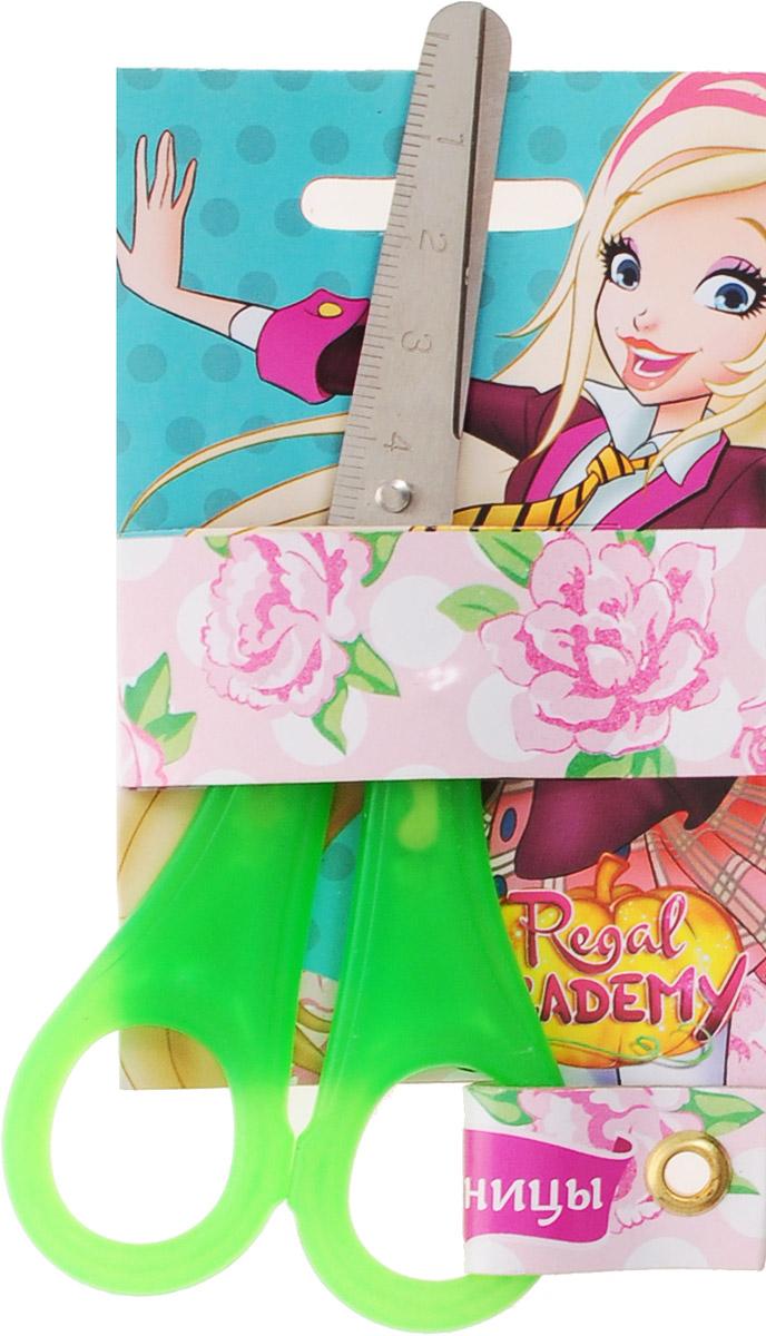 Centrum Ножницы Королевская академия цвет салатовыйFS-54104Детские ножницы Centrum Королевская академия прекрасно подойдут для детского творчества.Лезвия выполнены из коррозионностойкой стали с закругленными концами, что делает процесс работы с ними безопасным для ребенка. На лезвиях имеется шкала до 5 см. Благодаря эргономичной форме пластиковых ручек, модель отлично ложится как в детскую, так и во взрослую руку.Ножницы хорошо справляются с резкой бумаги, картона и станут незаменимым помощником в процессе создания аппликаций и других поделок.Предназначены для детей от 3-х лет.