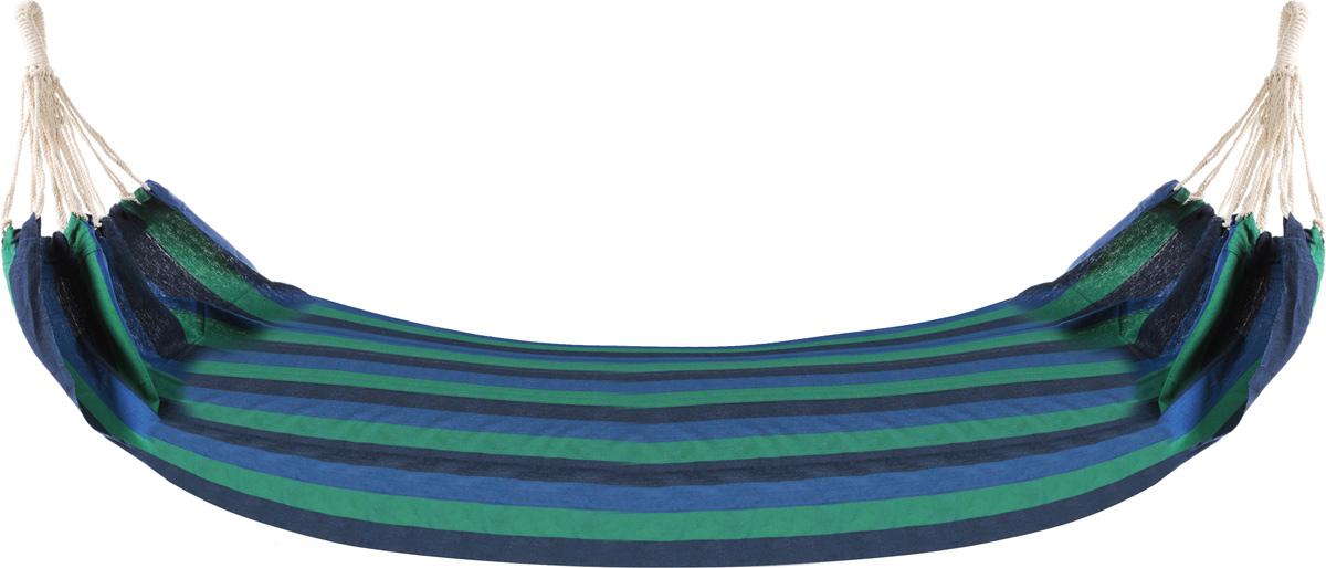 Гамак Greenwood, 200 х 100 смC0038553Прочный гамак на кольцах Greenwood, изготовленный из высококачественного хлопка, внесет дополнительный комфорт в ваш отдых на даче, в походе или на пикнике.Дача, лето, свежий воздух, отдых после тяжелой работы, возможность побыть наедине с природой, насладиться запахами листвы и цветов, солнечным светом, пробивающимся сквозь кроны деревьев - все эти приятные мысли и эмоции пробуждаются в нас при взгляде на один очень простой предмет - гамак.Размер: 200 х 100 см. Максимальная нагрузка: 100 кг. Вес: 1,1 кг.