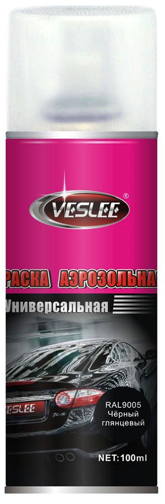 Краска аэрозольная Veslee, цвет: черный глянцевый, 100 млVL-P2E GПредназначается для высококачественного окрашивания поверхностей, сделанных из дерева, металла и пластика. Идеальна для окрашивания автомобилей, мотоциклов, различного оборудования, приборов, мебели и прочего. Имеет широчайшую палитру цветов и форм. Такая краска не желтеет и не выцветает, то есть является атмосферостойкой. Акриловые краски могут быть использованы как для полного окрашивания, так и для подкрашивания. Прекрасно подходят не только для транспортных средств, но и для любого другого оборудования, такого как кухонное, например. Они могут успешно использованы для декорирования различных деталей интерьера и разных поверхностей не только в быту, но и в офисе или магазине. Аэрозольная краска на акрилово-эпоксидной основе является наиболее экономичным вариантом. Являются универсальными - они годятся как для наружных, так и для внутренних работ, устойчивы к неблагоприятным атмосферным явлениям, не выцветают и не желтеют со временем. Такие краски благодаря своим уникальным свойствам надежно защищают поверхности от окисления и ржавчины и вполне пригодны как для полного окрашивания поверхностей, так и для частичного. Весьма положительным качеством, которым обладают акриловые краски, является то, что они не содержат свинца и ртути. Срок годности 5 лет.