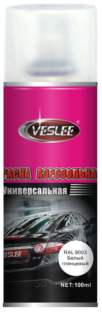 Краска аэрозольная Veslee, цвет: белый глянцевый, 100 млVL-P2E 9003Предназначается для высококачественного окрашивания поверхностей, сделанных из дерева, металла и пластика. Идеальна для окрашивания автомобилей, мотоциклов, различного оборудования, приборов, мебели и прочего. Имеет широчайшую палитру цветов и форм. Такая краска не желтеет и не выцветает, то есть является атмосферостойкой. Акриловые краски могут быть использованы как для полного окрашивания, так и для подкрашивания. Прекрасно подходят не только для транспортных средств, но и для любого другого оборудования, такого как кухонное, например. Они могут успешно использованы для декорирования различных деталей интерьера и разных поверхностей не только в быту, но и в офисе или магазине. Аэрозольная краска на акрилово-эпоксидной основе является наиболее экономичным вариантом. Являются универсальными - они годятся как для наружных, так и для внутренних работ, устойчивы к неблагоприятным атмосферным явлениям, не выцветают и не желтеют со временем. Такие краски благодаря своим уникальным свойствам надежно защищают поверхности от окисления и ржавчины и вполне пригодны как для полного окрашивания поверхностей, так и для частичного. Весьма положительным качеством, которым обладают акриловые краски, является то, что они не содержат свинца и ртути. Срок годности 5 лет.