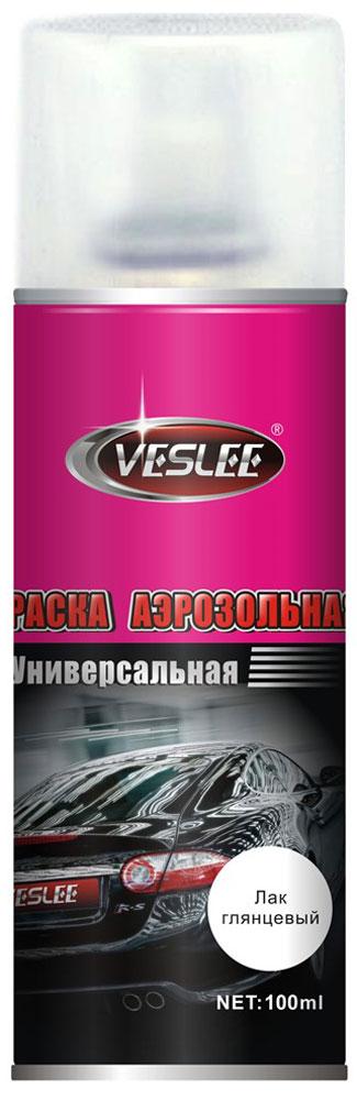 Краска акриловая Veslee Лак, аэрозоль, цвет: прозрачный глянцевый, 100 млVL-P2E CGКраска Veslee Лак предназначена для высококачественного окрашивания поверхностей, сделанных из дерева, металла и пластика. Идеальна для окрашивания автомобилей, мотоциклов, различного оборудования, приборов, мебели и прочего. Имеет широчайшую палитру цветов и форм. Такая краска не желтеет и не выцветает, то есть является атмосферостойкой. Акриловые краски могут быть использованы как для полного окрашивания, так и для подкрашивания. Прекрасно подходят не только для транспортных средств, но и для любого другого оборудования. Они могутуспешно использованыдля декорирования различных деталей интерьера и разных поверхностей не только в быту, но и в офисе или магазине.