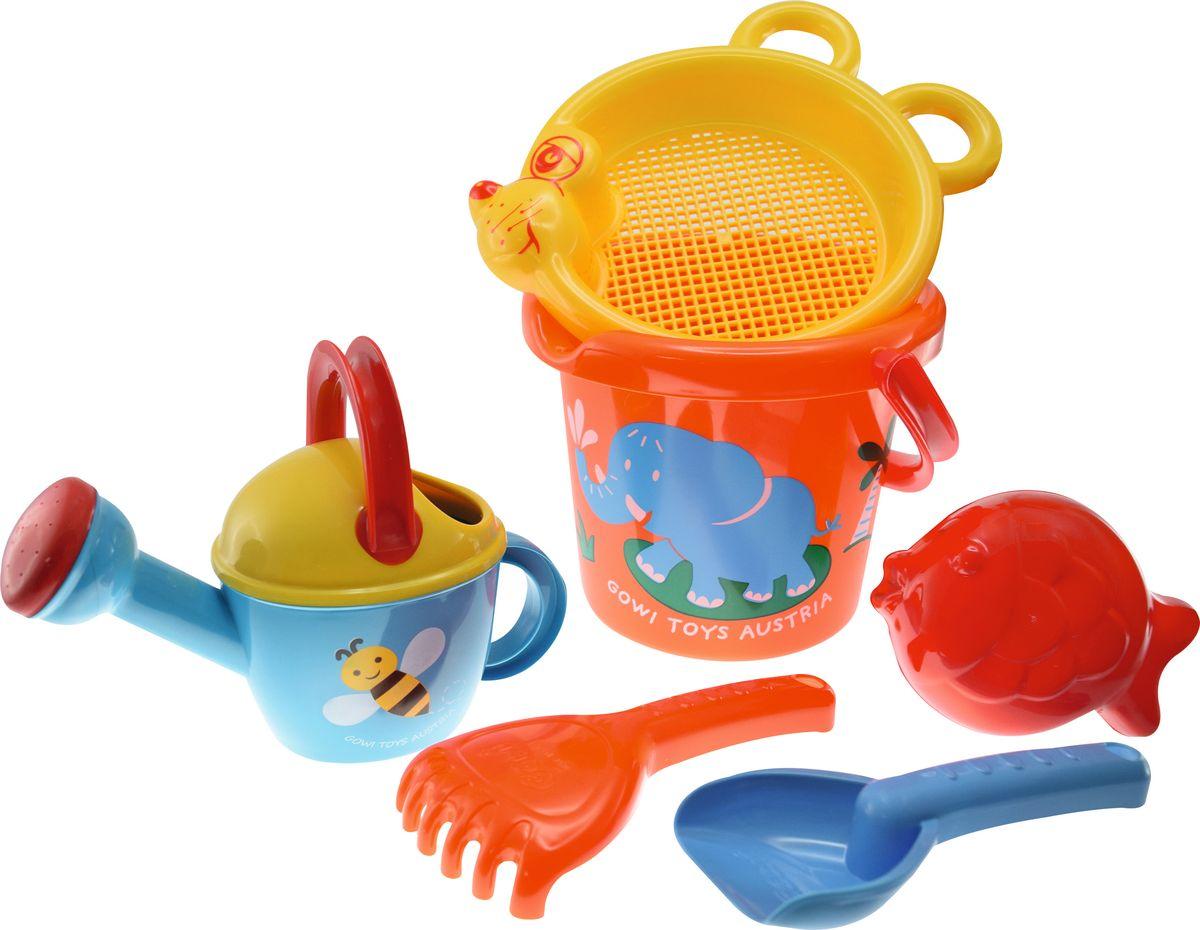 Gowi Набор игрушек для песочницы Слоненок 6 предметов игрушки для песочницы gowi