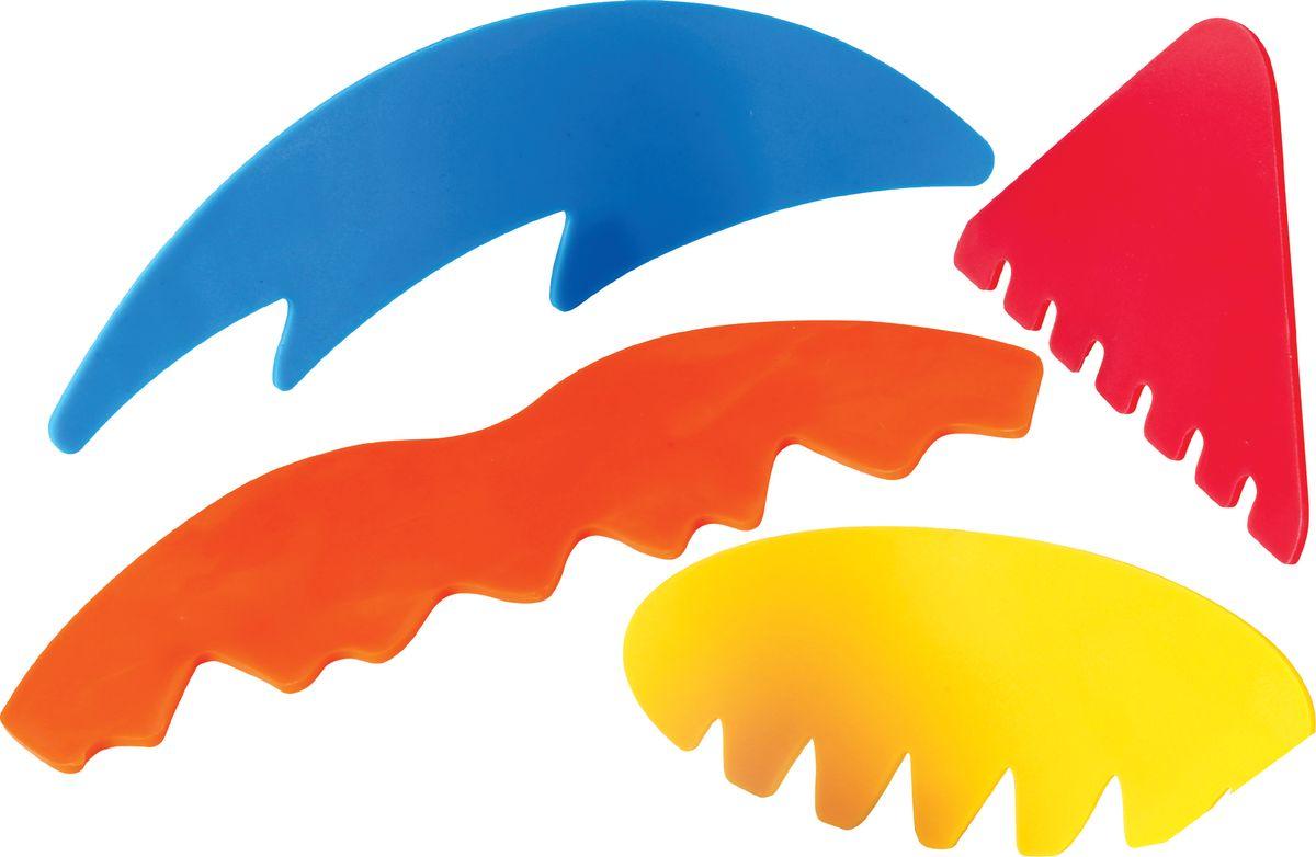 Gowi Набор скребков для песочницы 4 шт игрушки для песочницы gowi