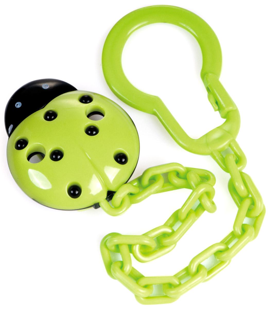 Canpol Babies Клипса-держатель для пустышки цвет зеленый