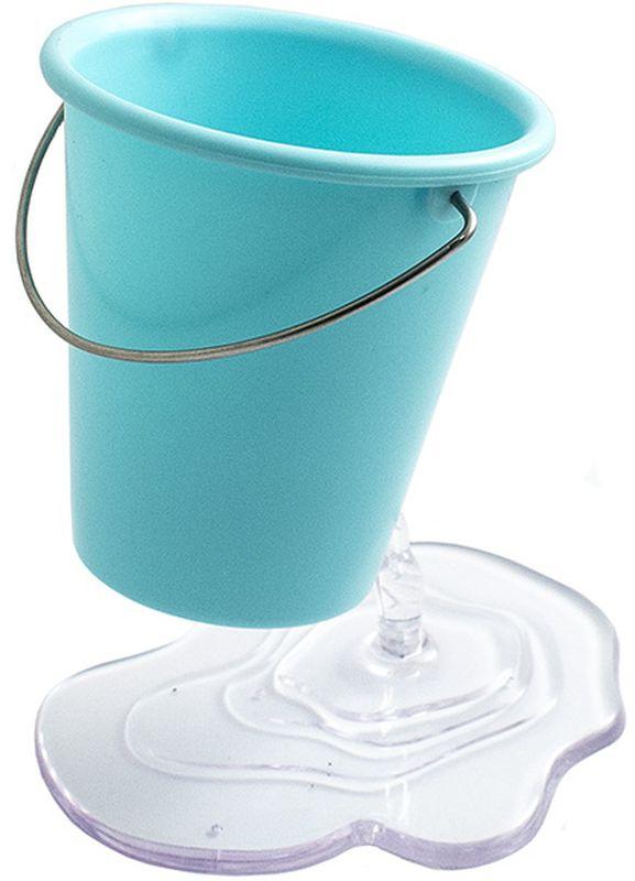 Эврика Органайзер настольный Ведерко цвет синийFS-00103Необычная подставка для канцелярских принадлежностей создает иллюзию, будто небольшое ведро зависло в воздухе, а из отверстия в нем прямо на стол вытекает вода. Хотите удивить коллег или сделать выполнение уроков для ребенка более радостным поставьте на стол эту удобную сборную подставку для ручек, и пристальное внимание вам обеспечено. Материал: пластик.
