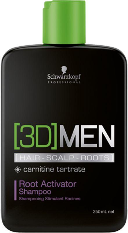[3D]Men Шампунь активатор роста волос Для мужчин, 250 мл1853316Шампунь Активатор роста волос. Для мужчин. Стимулирует волосяные луковицы и помогает волосам восстановить плотность, а также сокращает потерю волос. Пантенол , таурин и карнитин - это три ключевых компонента, которые воздействуют одновременно на волосы, кожу головы и корни волос, влияя на факторы роста волос и доставляя питательные вещества в волосяные фолликулы.