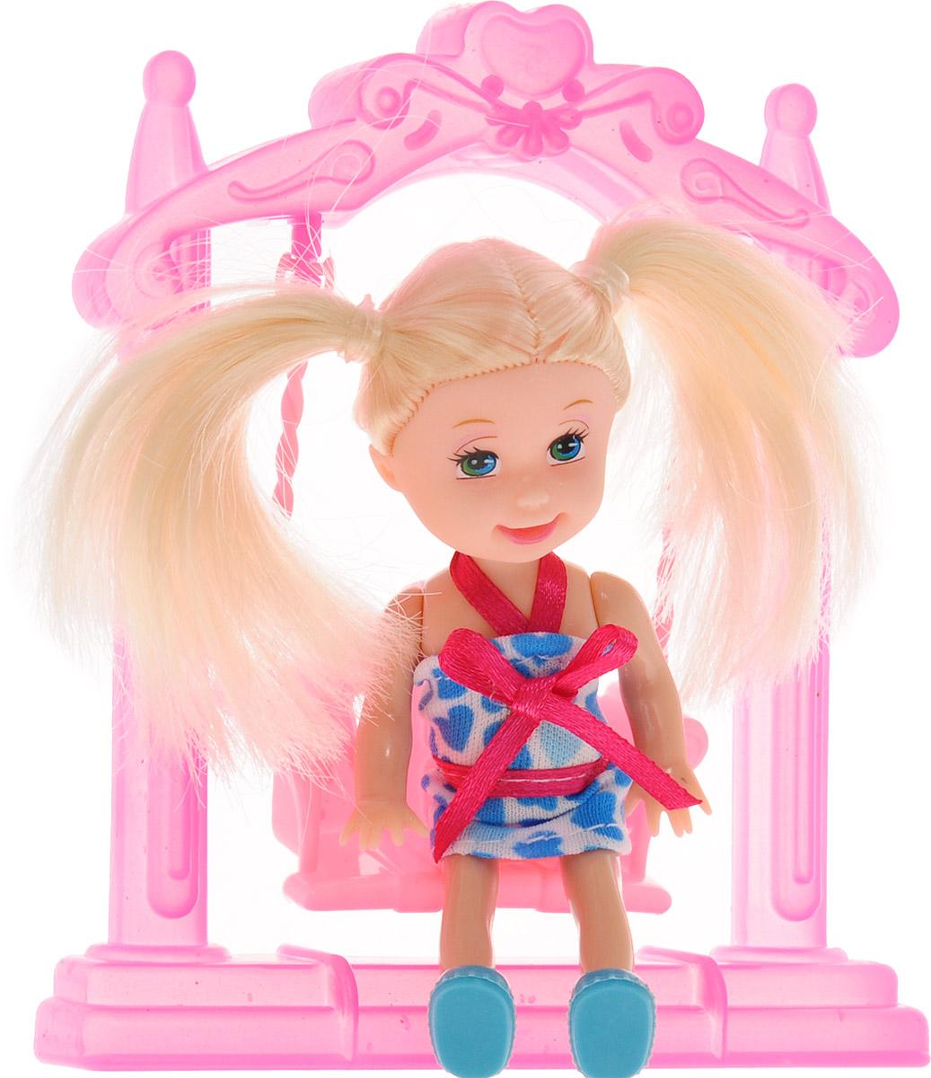 Город игр Мини-кукла Kelly на качели