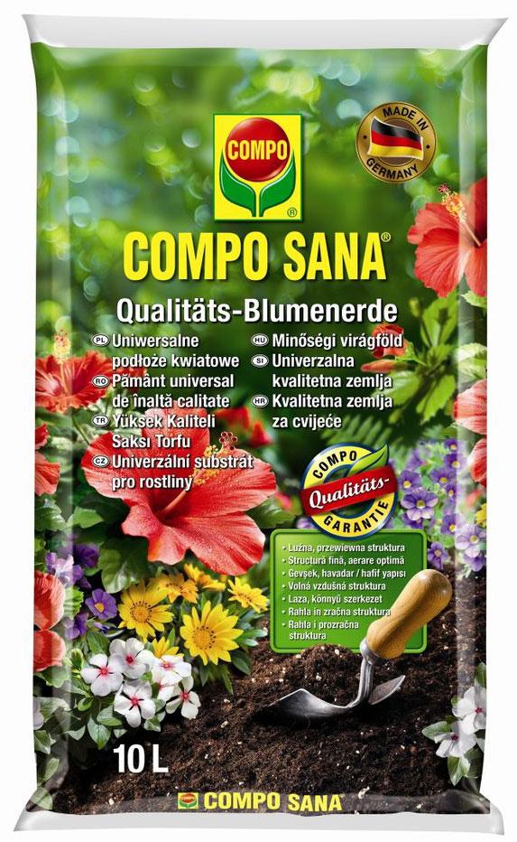 Почвогрунт Compo Sana, универсальный, 10 л1113104066