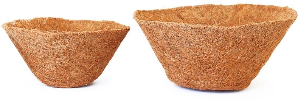 Вкладыш Garden Show, в кашпо, диаметр 25 см. 466512RSP-202SСменный вкладыш для подвесных кашпо. Служит для пересадки растений. Применяется для садового интерьера. Кокосовое волокно способствует сохранению в почве питательных веществ и сохранению комфортного для растений уровня влажности.