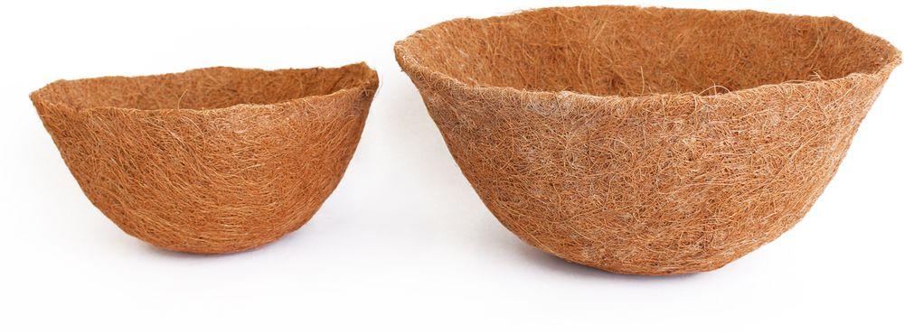 Вкладыш Garden Show, в кашпо, диаметр 35 см74-0140Сменный вкладыш для подвесных кашпо. Служит для пересадки растений. Применяется для садового интерьера. Кокосовое волокно способствует сохранению в почве питательных веществ и сохранению комфортного для растений уровня влажности.