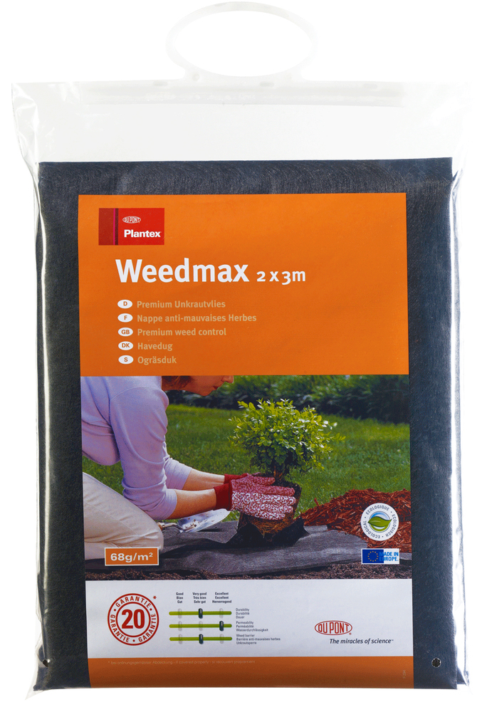 Мембрана Plantex Weedmax, для защиты от сорняков, 2 x 3 мD13530456
