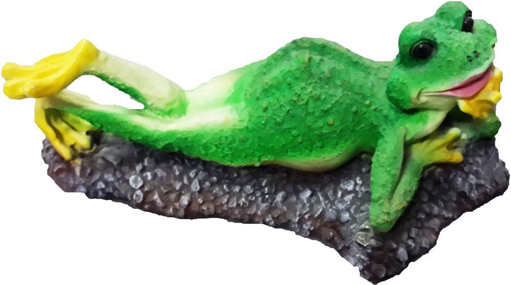 Фигурка Лягушка отдыхает, высота 12 смF544