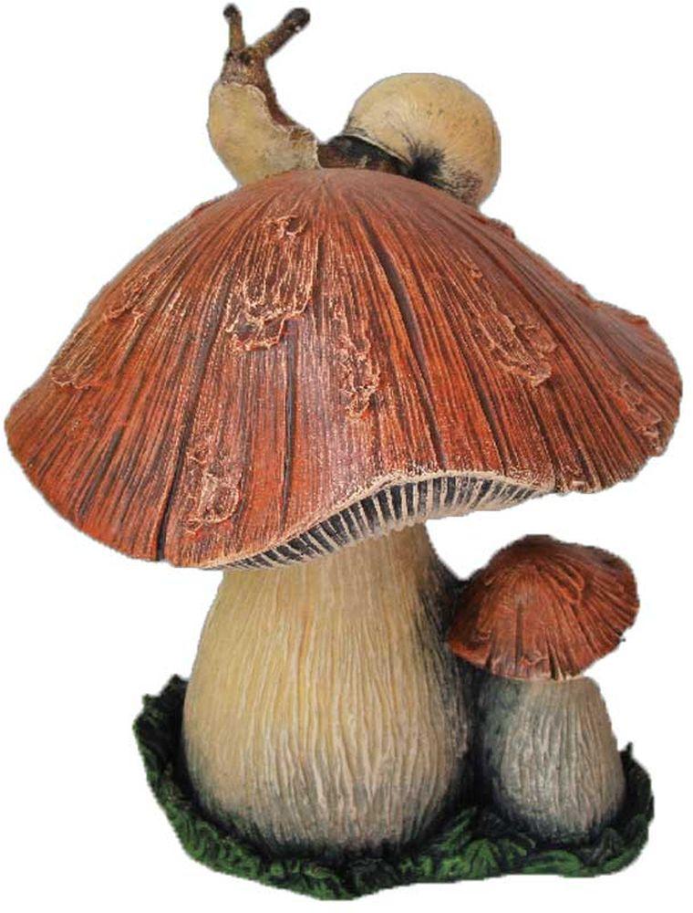 Фигурка Гриб с улиткой, высота 30 смФП009
