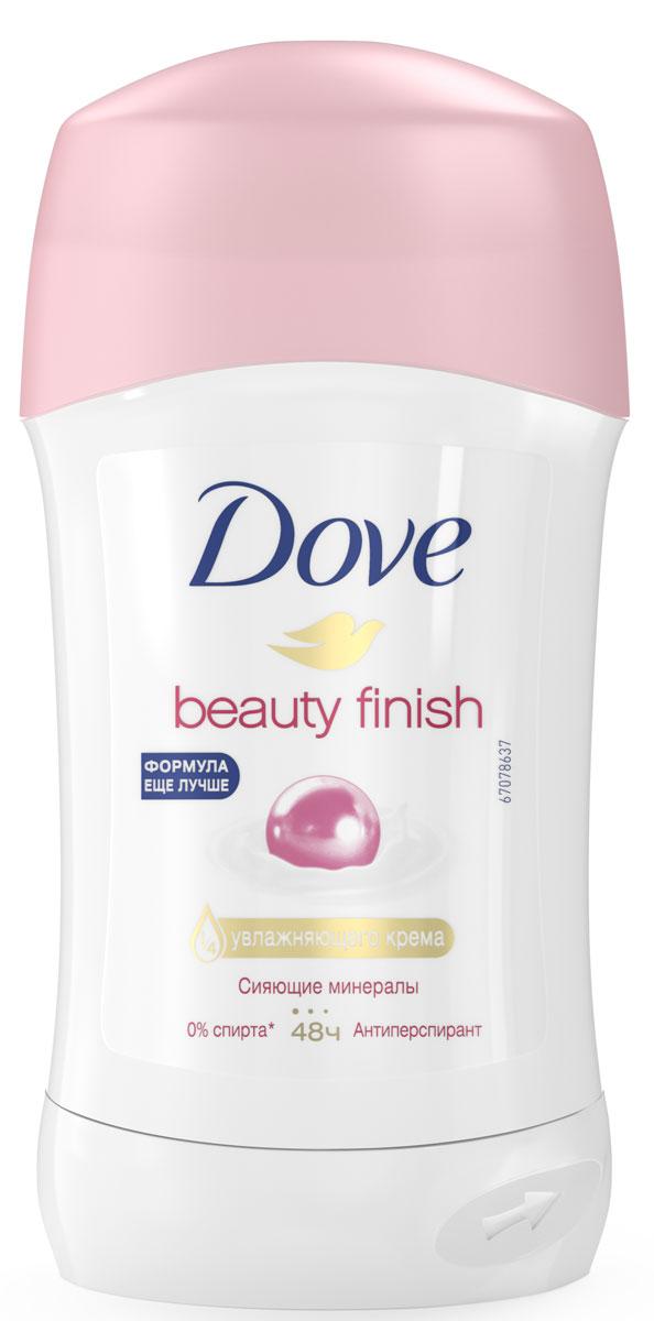 Dove Антиперспирант карандаш Прикосновение красоты 40 млFS-36054Антиперсипрант Dove Прикосновение Красоты - обеспечивает защиту от пота на 48 часов и на 1/4 состоит из особенного увлажняющего крема, который способствует восстановлению кожи после бритья, делая ее более гладкой и нежной- Содержит сияющие минералы, известные своими светоотражающими свойствами, которые делают тон кожи более ровным и естественным