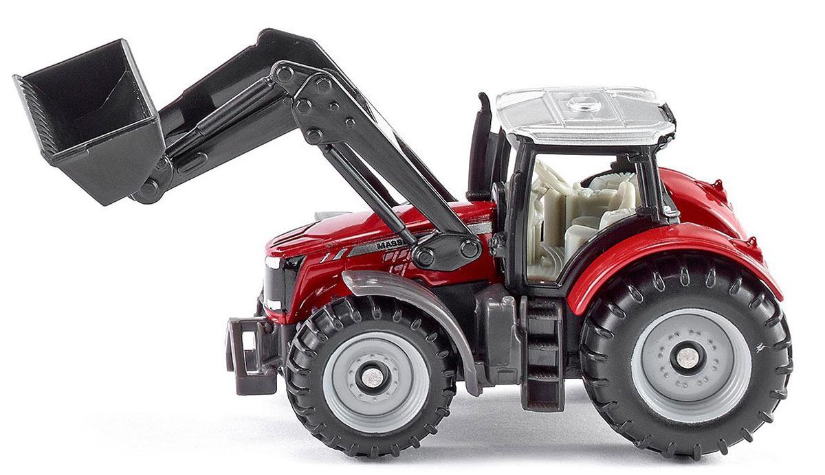 Siku Трактор Massey-Ferguson с фронтальным погрузчиком massey ferguson wintest 2 20 02
