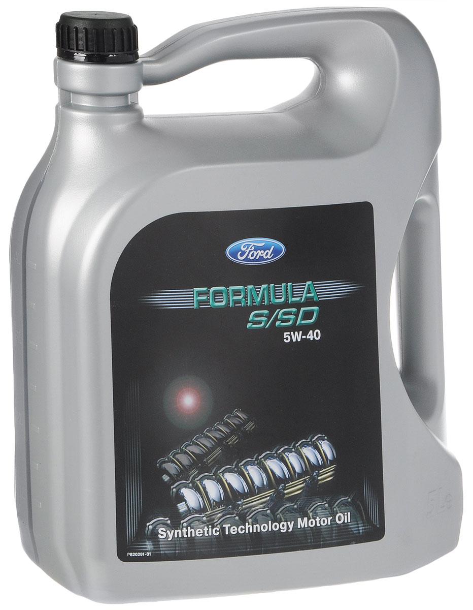 Моторное масло Ford Formula, синтетическое, 5W-40, 5 лKLAN5-05304Моторное масло Ford Formula - полностью синтетическое моторное масло с высокими эксплуатационными характеристиками для бензиновых и дизельных двигателей, включая двигатели TDI, а также двигатели, оборудованные сажевыми фильтрами. Обеспечивает защиту от износа и образования отложений. Способствует максимальному снижению трения, увеличению мощности и ресурса двигателя. Выполняет требования спецификации Ford M2C917-A. Допуски: WSS-M2C917-AACEA A3/B4API SM/CF