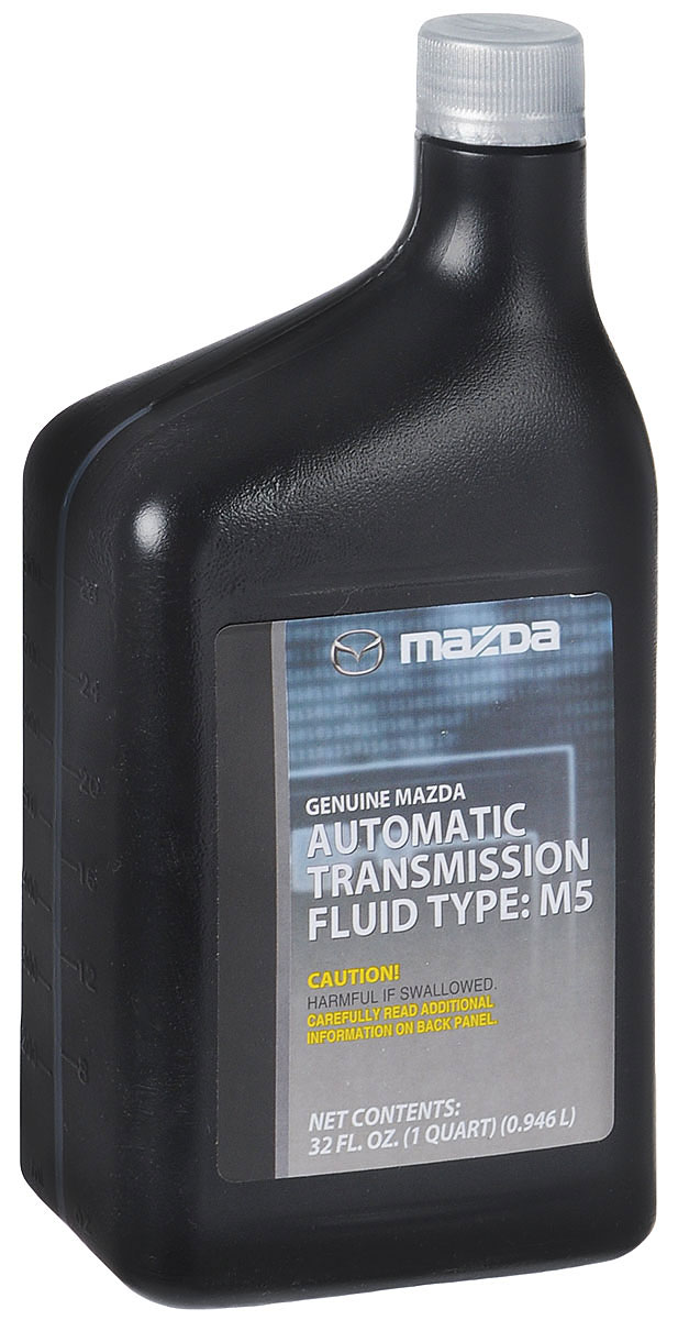 Трансмиссионная жидкость для АКПП MAZDA ATF M-5, 946 мл790009MAZDA масло для АКПП ATF M-VТрансмиссионное масло MAZDA ATF M-V разработано специально для двигателей нового поколения. При создании продукта учитывалась возросшая нагрузка, которой подвергаются современные двигатели. Специальная формула гарантирует надежное смазывание деталей в широком температурном диапазоне. Автомасло теряет текучесть только при -50°С, что значительно расширяет возможности его использования. Многофункциональные присадки обеспечивают превосходные антифрикционные и смазочные свойства. Оригинальное масло MAZDA гарантирует уверенную работу трансмиссии, плавный ход и легкое переключение передач