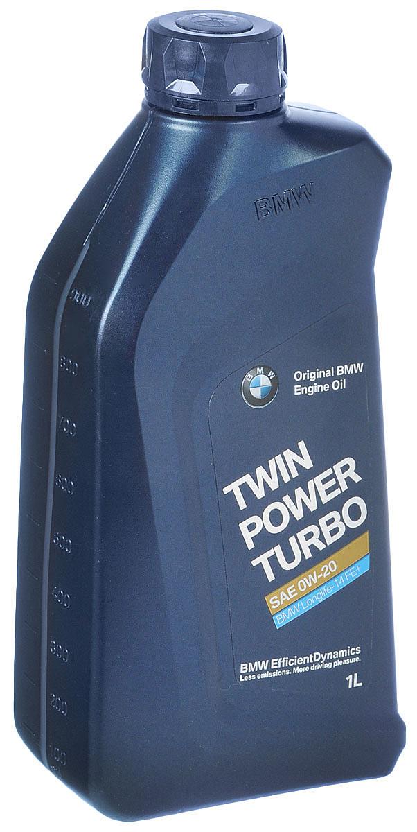 Масло моторное BMW Twinpower Turbo, синтетическое, класс вязкости 0W-20, 1 л08798-9039Синтетическое моторное масло BMW Twinpower Turbo предназначено для всех бензиновых и дизельных двигателей автомобилей MINI, формула Low-SAPS обеспечивает защиту сажевого фильтра дизельного двигателя от загрязнения. Отличается от обычных моторных масел тем, что в полной мере позволяет двигателям реализовывать возможности технологий EfficientDynamics. Обеспечивает стабильность рабочих характеристик в широком диапазоне температур и нагрузок двигателя. Запатентованная технология активной очистки защищает от образования отложений и коррозии, таким образом продлевая срок службы двигателей.Товар сертифицирован.