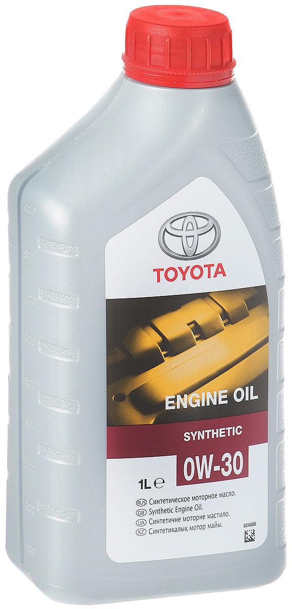 Моторное масло Toyota SAE SL/CF, класс вязкости 0W30, 1 лPM 6705Синтетическое оригинальное моторное масло Toyota SAE 0W-30 (08880-80366) . Масло является универсальным и подходит для бензиновых и дизельных двигателей. Оно обладает особыми вязкостно-температурными характеристиками, это позволяет решить проблему недостаточного смазывания двигателя при холодном пуске.