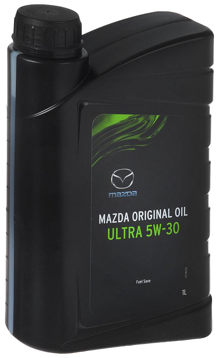 Моторное масло MAZDA Original Oil Ultra, синтетическое, класс вязкости 5W30, 1 л80621Оришинальное моторное масло MAZDA Original Oil Ultra SAE 5W-30 - для различных условий эксплуатации; для всех видов эксплуатации (городской, шоссейный и мото типы вождения) при экстремальных условиях эксплуатации; для всесезонного применения; наилучшим образом подходит для применения при низких температурах зимой.