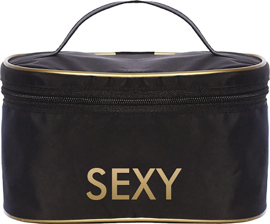 Sexy Lashes Косметичка с логотипомINT-06501Очень удобная, вместительная и практичная косметичка для профессионалов. Качественный пошив и приятная на ощупь плотная ткань логотипом SEXY, устойчивая к износу. Эта косметичка прослужит вам долго!