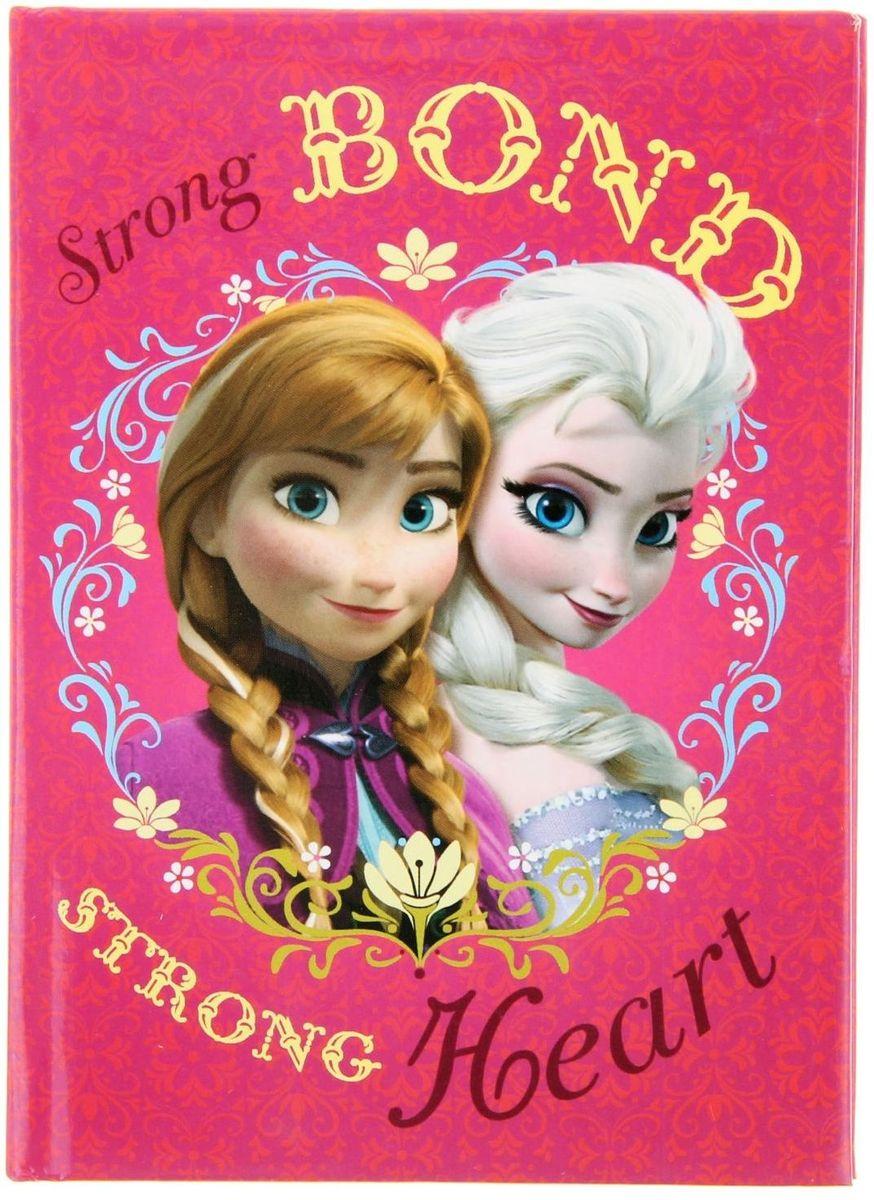 Disney Записная книжка Холодное сердце 48 листов 100627072523WDЗаписная книжка — компактное и практичное полиграфическое изделие, предназначенное для записей и заметок. Такой аксессуар прекрасно подойдёт для фиксации повседневных дел.Это канцелярское изделие отличается красочным оформлением и придётся по душе как взрослому, так и ребёнку.