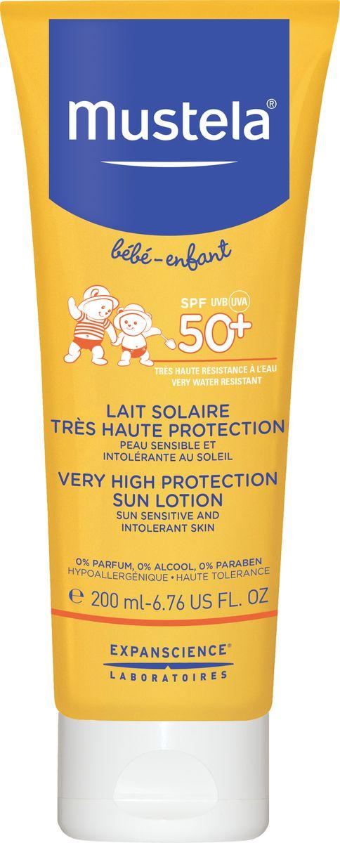 Mustela Sun Солнцезащитное молочко SPF 50+, 200 млМ188Назначение Cолнцезащитное молочко для лица и тела с очень высокойстепенью защиты Назначение Cолнцезащитное молочко для лица и тела с очень высокойстепенью защиты Cолнцезащитное молочко для лица и тела с очень высокойстепенью защиты SPF 50+.Разработано для минимизации риска аллергических реакций.Клинически доказанная высокая переносимость и степеньзащиты SPF 50+ (25PPD). • Подходит для чувствительной и склонной к атопии кожи. • Протестировано под дерматологическим и педиатрическим контролем.Входящий в состав активный ингредиент природного происхождения Avocado Perseose® укрепляет кожный барьер малыша и защищает клеточные ресурсы его кожи от ультрафиолетовых лучей. Устойчиво к смыванию водой.0% отдушек, этилового спирта, парабенов.Приоритет отдается ингредиентам природного происхождения.Инструкция по применению : Наносите обильно на сухую кожу малыша как минимум каждые два часа и после каждого купания.Состав: AQUA (WATER), COCO-CAPRYLATE/CAPRATE, CAPRYLIC/CAPRICTRIGLYCERIDE, DICAPRYLYL CARBONATE, GLYCERIN, DIETHYLAMINO HYDROXYBENZOYL HEXYL BENZOATE, LAURYL GLUCOSIDE, POLYGLYCERYL-2 DIPOLYHYDROXYSTEARATE, ETHYLHEXYL TRIAZONE, PERSEA GRATISSIMA(AVOCADO) OIL, PHENYLBENZIMIDAZOLE SULFONIC ACID, TITANIUM DIOXIDE, BIS-ETHYLHEXYLOXYPHENOL METHOXYPHENYL TRIAZINE, PENTYLENE GLYCOL, POTASSIUM CETYL PHOSPHATE, STEARALKONIUM HECTORITE, TOCOPHEROL, GLYCERYL CAPRYLATE, SODIUM HYDROXIDE, DEHYDROACETICACID, ALUMINA, XANTHAN GUM, JOJOBA ESTERS, PROPYLENE CARBONATE, PERSEA GRATISSIMA (AVOCADO) FRUIT EXTRACT.