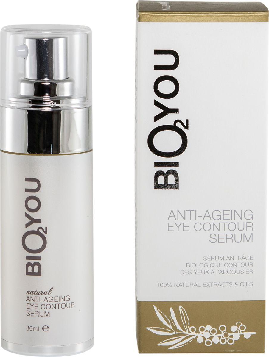 BIO2You Anti-age Skin Care Натуральная омолаживающая сыворотка для области вокруг глаз, 30 мл191Натуральная органическая формула с биоактивными ингредиентами уменьшает морщинки, укрепляет, питает, увлажняет и придает области вокруг глаз ощущение приятной нежности и комфорта.