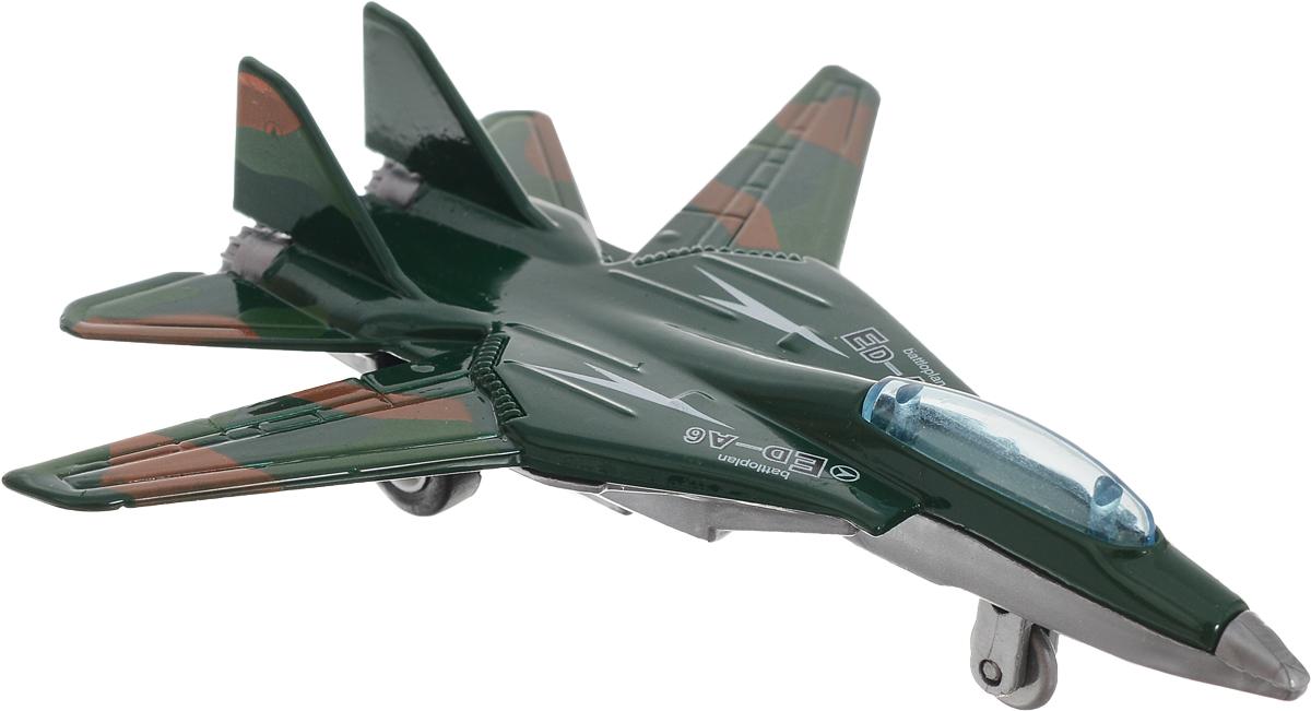 Город игр Самолет Мир авиации цвет темно-зеленый