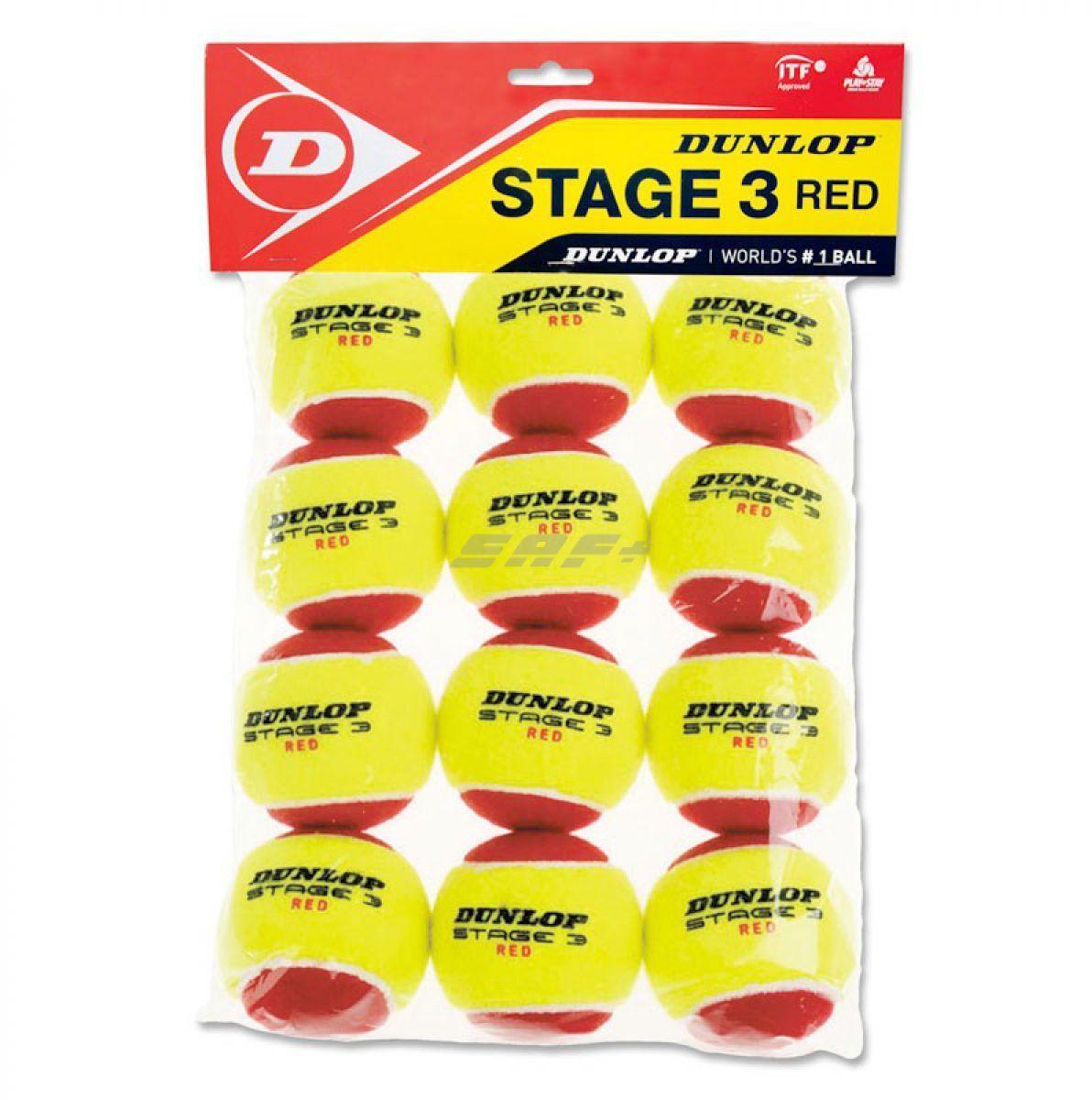 Мячи теннисные Dunlop Stage 3Хот ШейперсМяч Dunlop Stage 3 Red, созданный из тех же материалов, что и стандартный мяч, разработан специально для начинающих. Увеличенный размер мяча и более медленная скорость полета позволяют дольше держать мяч в игре даже новичкам. Подходит для любого возраста и использования, как в помещении, так и на улице.