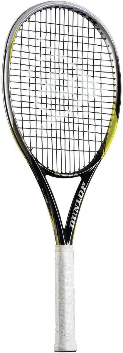 Ракетка для тенниса Dunlop D TR Biomimetic F5.0 Tour G4 HL. Размер 4676278Ракетка для тенниса Dunlop D TR Biomimetic F5.0 Tour G4 HL, выполненная из графита, предназначена для спортсменов профессионального уровня. Струны ракетки изготовлены из полиэстера.Благодаря новой конструкции увеличилось игровое пятно ракетки, увеличилась мощность и скорость головки ракетки, что позволяет агрессивно играть из любой позиции на корте.Pentagonal Geometry - пятиугольная форма шафта улучшает жесткость ракетки, повышает мощность и уменьшает торсионное скручивание для лучшего контроля.Wave Grommet System - волнообразная форма протектора улучшает перераспределение давления струн, понижает вибрацию при ударе, улучшает передачу импульса и комфорт.CX Technology - аэродинамическая форма обода повторяет форму крыльев хищных птиц, что обеспечивает лучшую скорость головки ракетки в сравнении с обычным прямоугольным профилем.В комплект к ракетке входит фирменный чехол, закрывающийся на застежку-молнию. Чехол оснащен плечевым ремнем для переноски, регулируемым по длине.Такая ракетка разработана для игроков, предпочитающих мощность и универсальную маневренность. Площадь струнной поверхности: 100 кв. дюймовВес без струн: 302 г / 10.65 унцииБаланс без струн: 320 ммДлина ракетки: 27 дюймовСтрунная формула: 16 x 19Ширина обода: 22-25-25 ммЖесткость RA: 69Усилие натяжения струны: 23-28 кг (52-62 фунта)Материал: Premium Graphite / Biofibre Мощность: 5.5Контроль: 8
