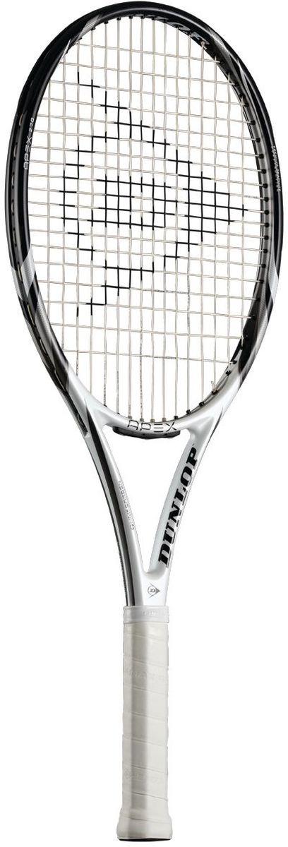 Ракетка для тенниса Dunlop D TR Apex 270 G2 HL. Размер 2676392Ракетка для тенниса Dunlop D TR Apex 270 G2 HL, выполненная из графита, предназначена для спортсменов начального уровня. Струны ракетки изготовлены из полиэстера.Pentagonal Geometry - пятиугольная форма шафта улучшает жесткость ракетки, повышает мощность и уменьшает торсионное скручивание для лучшего контроля.HM6 Carbon - технология, которая базируется на одной из самых эффективных структур, созданных самой природой, - пчелиных сотах. Сложное множество шестиугольных ячеек создает невероятно прочную и легкую структуру, на 95% состоящую из воздуха, которая поглощает вибрацию, сохраняя первоначальную форму.Vibrotech - более широкие отверстия с более мягкими мостиками в месте изгиба струны, позволяет увеличить время контакта мяча со струнной поверхностью, в результате увеличивается мощность и уменьшается вибрация струн.В комплект к ракетке входит фирменный чехол, закрывающийся на застежку-молнию. Чехол оснащен плечевым ремнем для переноски, регулируемым по длине.Такая ракетка прекрасно подойдет тем игрокам, которые только начинают играть в теннис. Площадь струнной поверхности: 100 кв. дюймовВес без струн: 270 г / 9.5 унцииБаланс без струн: 320 ммДлина ракетки: 27 дюймовСтрунная формула: 16 x 19Ширина обода: 23-25-23.5 ммЖесткость RA: 68Усилие натяжения струны: 23-28 кг (52-62 фунта)Материал: Graphite Мощность: 9Контроль: 9.5