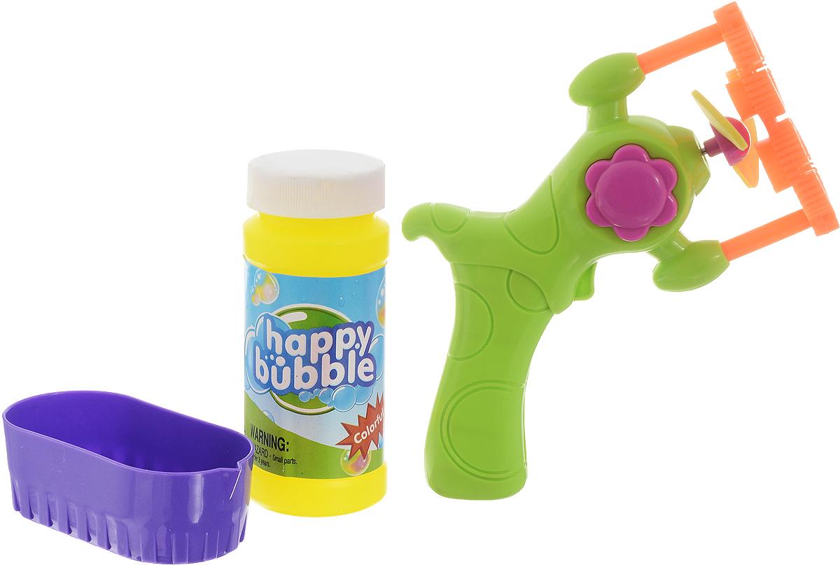 Junfa Toys Набор для пускания мыльных пузырей цвет салатовый -  Мыльные пузыри