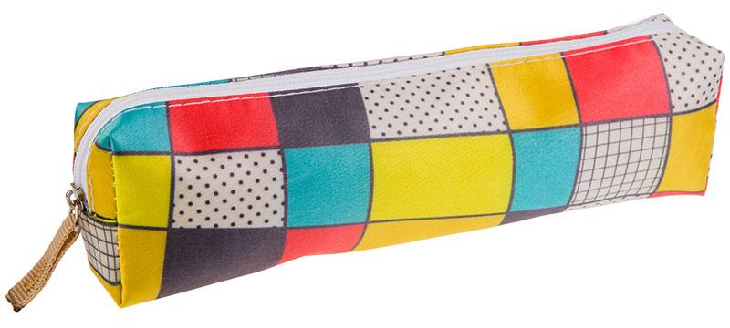 ArtSpace Пенал-косметичка Кубики цвет красный желтый72523WDУдобный школьный пенал для хранения письменных и чертежных принадлежностей. Имеет одно отделение на молнии