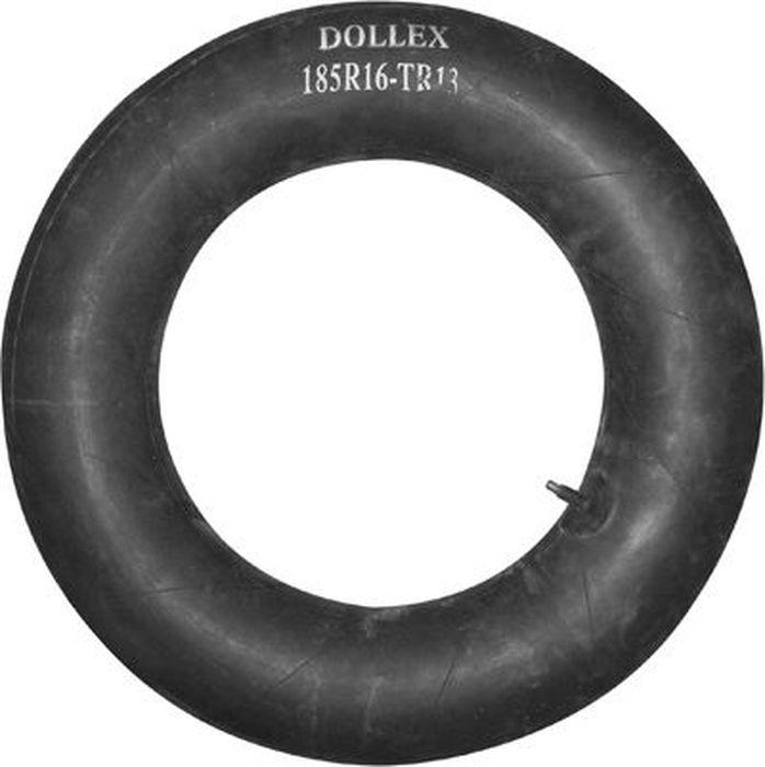 Камера для колеса DolleX, R16х185 TR-13CLP446Автомобильная камера R16 для автомобилей семейства Ваз, ГАЗ, Бычок импортных машин подобного класса. Типоразмеры шин, на которые подходит данная камера, имеют следующие обозначения: 185/60R16; 185/65R16; 185/70R16; 195/60R16