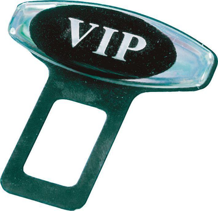 Заглушка ремня безопасности AM, металлическая, 2 шт, цвет: серый металлик11115Металлические, твердый материал.