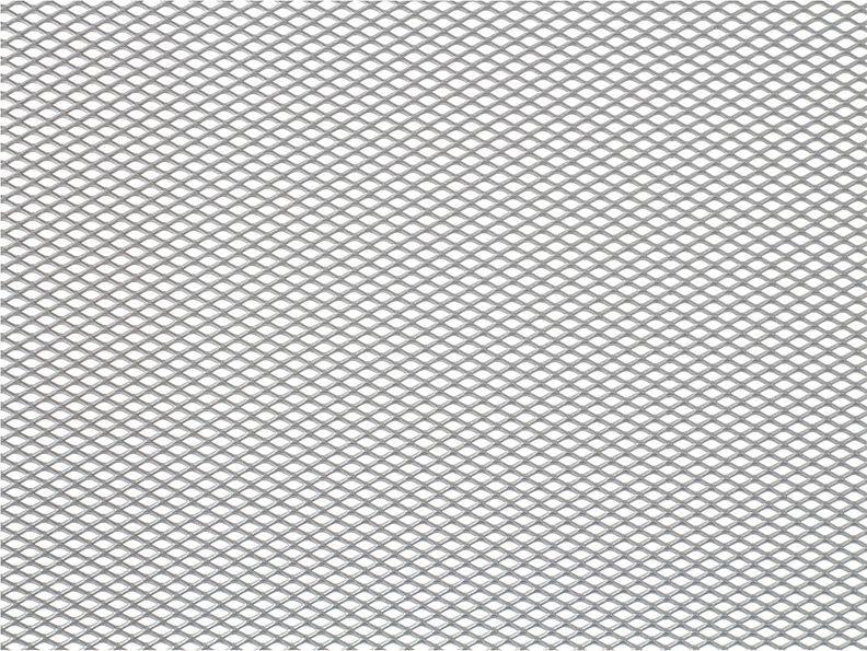Решетка радиатора декоративная DolleX, 100 х 20 см, ячейки 6 х 3,5 мм, цвет: серебристыйCLP446Облицовка радиатора (металлическая сетка декоративная) эффективно защищает элементы моторного отсека, радиатор системы охлаждения и кондиционирования автомобиля от камней, грязи и насекомых. Долговечная и легкомонтируемая. Придает индивидуальность автомобилю. Цвет: серебро Размер сетки: 100 х 20 см Размер ячейки: 6мм х 3,5мм