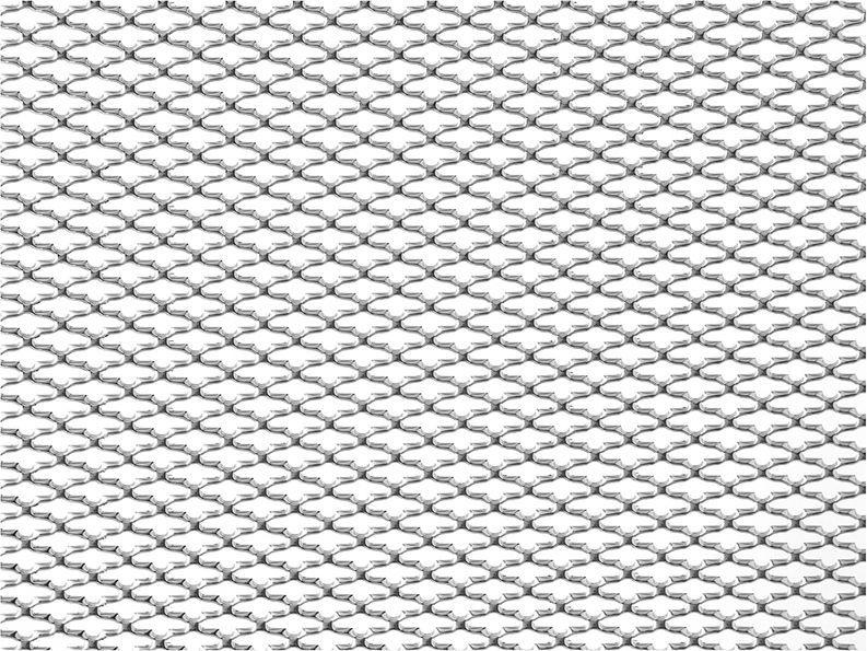 Решетка радиатора декоративная DolleX Сомбреро, 100 х 20 см, ячейки 15 х 6,5 мм, цвет: хром1004900000360Облицовка радиатора (металлическая сетка декоративная) эффективно защищает элементы моторного отсека, радиатор системы охлаждения и кондиционирования автомобиля от камней, грязи и насекомых. Долговечная и легкомонтируемая. Придает индивидуальность автомобилю. Цвет: хром Размер сетки: 100 х 20 см Размер ячейки: 15мм х 6,5мм