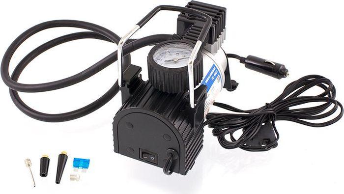 Компрессор автомобильный DolleX, предохранитель, сумка, 12V, 14 A, 150PSI, 35 л/минPA-500-03Производительность: 35л/мин Напряжение: 12-13,5 В Максимальный ток: 14А Максимальное давление: 10 кг/см3 (150 PSI) Алюминиевый корпус, мотор с прямым приводом, в конструкции отсутствуют шестерни, металлические поршень и клапаны, низкий уровень шума (69 Дб), брезентовая сумка в комплекте.