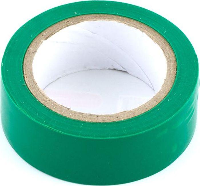Лента изоляционная DolleX, 19 мм х 9,10 м , цвет: зеленый1918969Толщина: 0,13 мм. Ширина: 19 мм. Длина: 9,1 м. Материал: полихлорвинил Обладает высокими клейкими свойствами