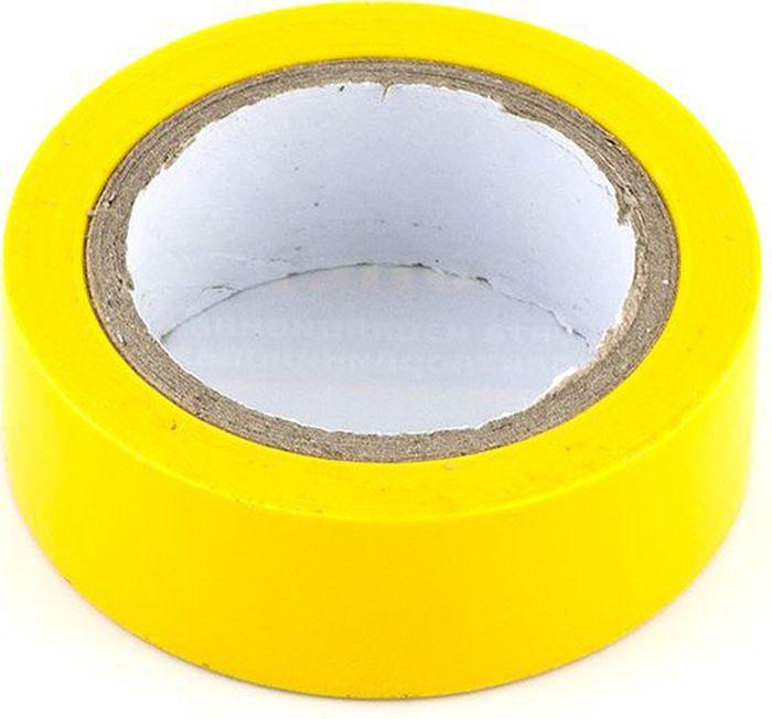 Лента изоляционная DolleX, 19 мм х 9,10 м , цвет: желтый1918968Толщина: 0,13 мм. Ширина: 19 мм. Длина: 9,1 м. Материал: полихлорвинил Обладает высокими клейкими свойствами